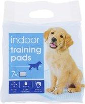 Honden Zindelijkheidstraining - 60 x 60 cm - 7 Stuks - Trainingsmat - Puppy Trainer - Super Absorberend