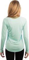 Vapor Apparel - UV-shirt met lange mouwen voor dames - wit