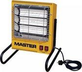 Elektrische infraroodstralers, type Master TS 3A