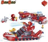 BanBao Brandweer Brandweer set - 8312