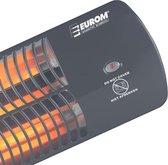 Eurom Q-time 1500 Terrasverwarmer - elektrisch - hangend - 3 warmtestanden - tot 1500 W