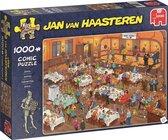 Jan van Haasteren Darts puzzel - 1000 stukjes - Multicolor