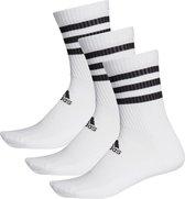 Adidas 3-Stripes Cushion Crew 3-pack - Wit