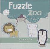 Little Dutch Legpuzzels Dieren - 6 Puzzels