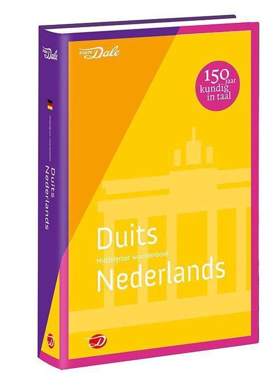 Van Dale middelgroot woordenboek - Van Dale middelgroot woordenboek Duits-Nederlands - none pdf epub