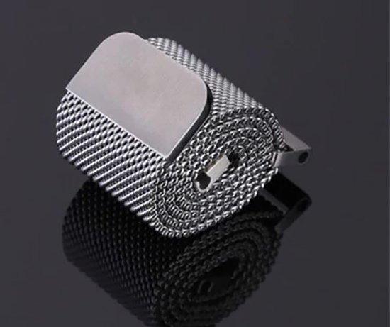 Horlogeband van RVS voor Shinola   20 mm   Horloge Band - Horlogebandjes   Zilver