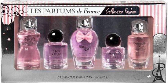 Les Parfums de France Fashion miniaturen (origineel uit Grasse)