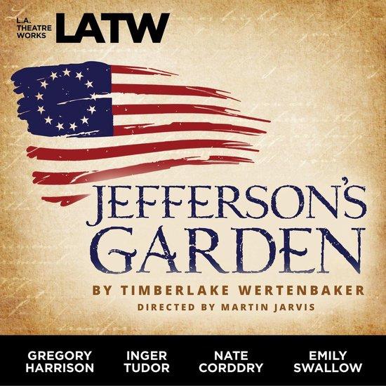 Boek cover Jeffersons Garden van Timberlake Wertenbaker (Onbekend)