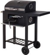 Vaggan Luxe Houtskool Barbecue - Grilloppervlak (LxB) 44 X 32 cm - Staal - Matzwart
