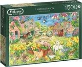 Puzzel - Lente op de boerderij - 1500 stukjes