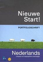 Boek cover Nieuwe Start! Nederlands 2010 Portfolioschrift van P. Roel