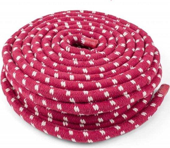 eSam® Touwtrektouw - Touw Trektouw - Tug of war rope - voor kinderen - Katoen - 22 meter lang - Ø 20 mm dik