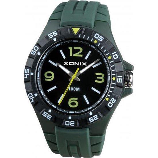 Groen Xonix horloge waterdicht CAD-004