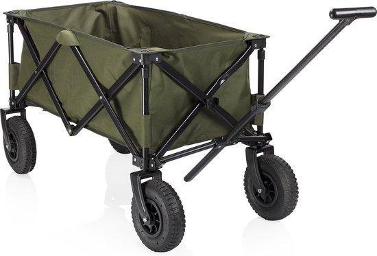 Product: Campart Travel bolderkar HC-0915 - Opvouwbaar - Groen, van het merk Campart