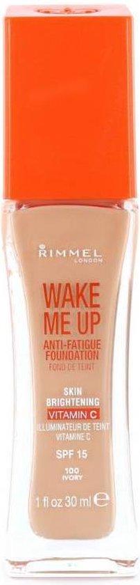 Rimmel - Wake Me Up Foundation with Vitamine C - Ivory