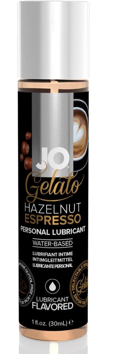 System JO - Gelato Hazelnoot Espresso Glijmiddel Waterbasis - 30 ml - Glijmiddel - JO