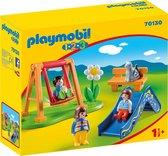 PLAYMOBIL 1.2.3 Speeltuintje - 70130