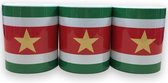 Surinaamse vlag mokken - 3 stuks
