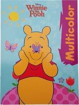 Disney's Winnie the pooh Kleurboek +/- 16 kleurplaten