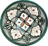 Handgemaakte en handbeschilderde authentieke Marokkaanse kom 26 cm
