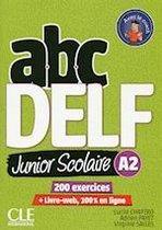 ABC DELF Junior Scolaire A2 livre+corrigés+transcriptions+DVD-rom