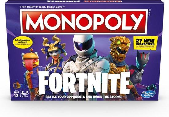 Afbeelding van Monopoly Fortnite (Eng /Nl Handleiding)
