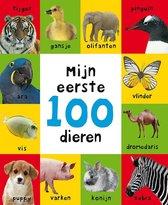 Boek cover Mijn eerste 100  -   Mijn eerste 100 dieren van Roger Priddy (Hardcover)