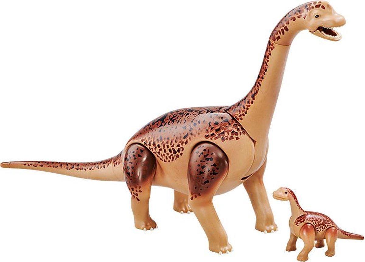 PLAYMOBIL Brachiosaurus met baby - 6595