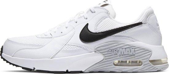 Nike Air Max Excee Heren Sneakers - White/Black-Pure Platinum - Maat 45