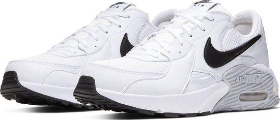 Nike Air Max Excee Heren Sneakers - White/Black-Pure Platinum - Maat 46