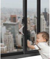 Beveiliging schuifpui - Raambegrenzer – Schuifdeur beveiliging - Schuifdeurslot – Raambeveiliging - schuifraam beveiliging - Raam slot - raam - kinderslot - Schuifraam - Beveiliging - Binnenhuis