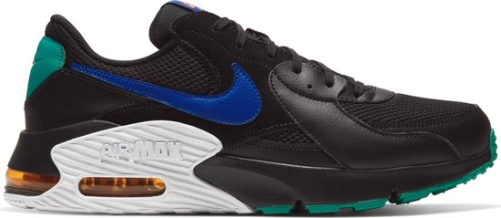 Nike Air Max Excee Heren Sneakers - Black/Hyper Blue-Neptune Green - Maat 47.5
