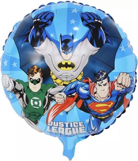 BATMAN-SUPERMAN-GREENLANTERN-18-Inch-Folie-Ballon!