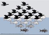 Placemat: Lucht en Water, M.C. Escher