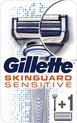 Gillette Skinguard Sensitive Scheersysteem + 1 Scheermesje Mannen