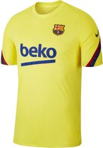 Nike Sportshirt - Maat L  - Mannen - geel/ blauw/ rood