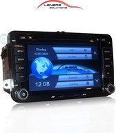 Navigatie radio met Bluetooth voor uw Volkswagen | RNS 510 pasvorm | versie 2020 | Carkit | Audio streaming | USB/SD/DVD