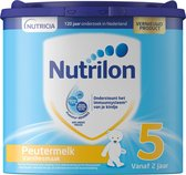 Nutrilon Peutermelk 5 Vanille - Flesvoeding vanaf 2 jaar - 400 gram
