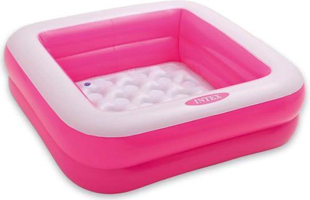 Intex - babybadje - roze