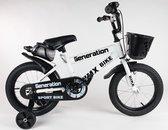 """Generation BMX fiets 16"""" Wit"""