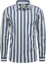 Minimum overhemd topper 6680 Donkerblauw-l