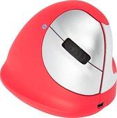 R-Go Tools R-Go HE Sport, Ergonomische muis, Medium (Handlengte 165-185mm), Rechtshandig, Bluetooth, Rood