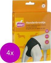 Adori Hondenbroek Luxe Zwart - Hondenloopsheid - 4 x Large