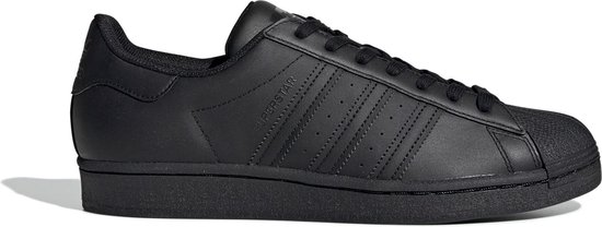 adidas Superstar Heren Sneakers - Core Black/Core Black/Core Black - Maat 45 1/3