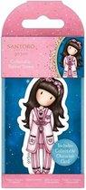 Gorjuss: Collectable Mini Rubber Stamp No.83 Goodnight Gorjuss (GOR 907348)