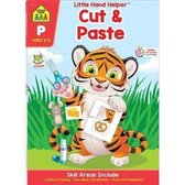 Cut & Paste Workbook with Stickers