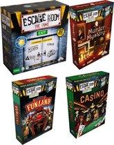 Mega Escape Room Spelvoordeelset inclusief Escape Room Basisspel & Uitbreidingsset Escape Room The Game Welcome to Funland & Identity Games Escape Room: Murder Mystery Uitbreidingsset & Uitbreidingsset Escape Room The Game Casino