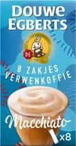 Douwe Egberts Verwenkoffie Latte Macchiato Oploskoffie - 10 x 8 zakjes