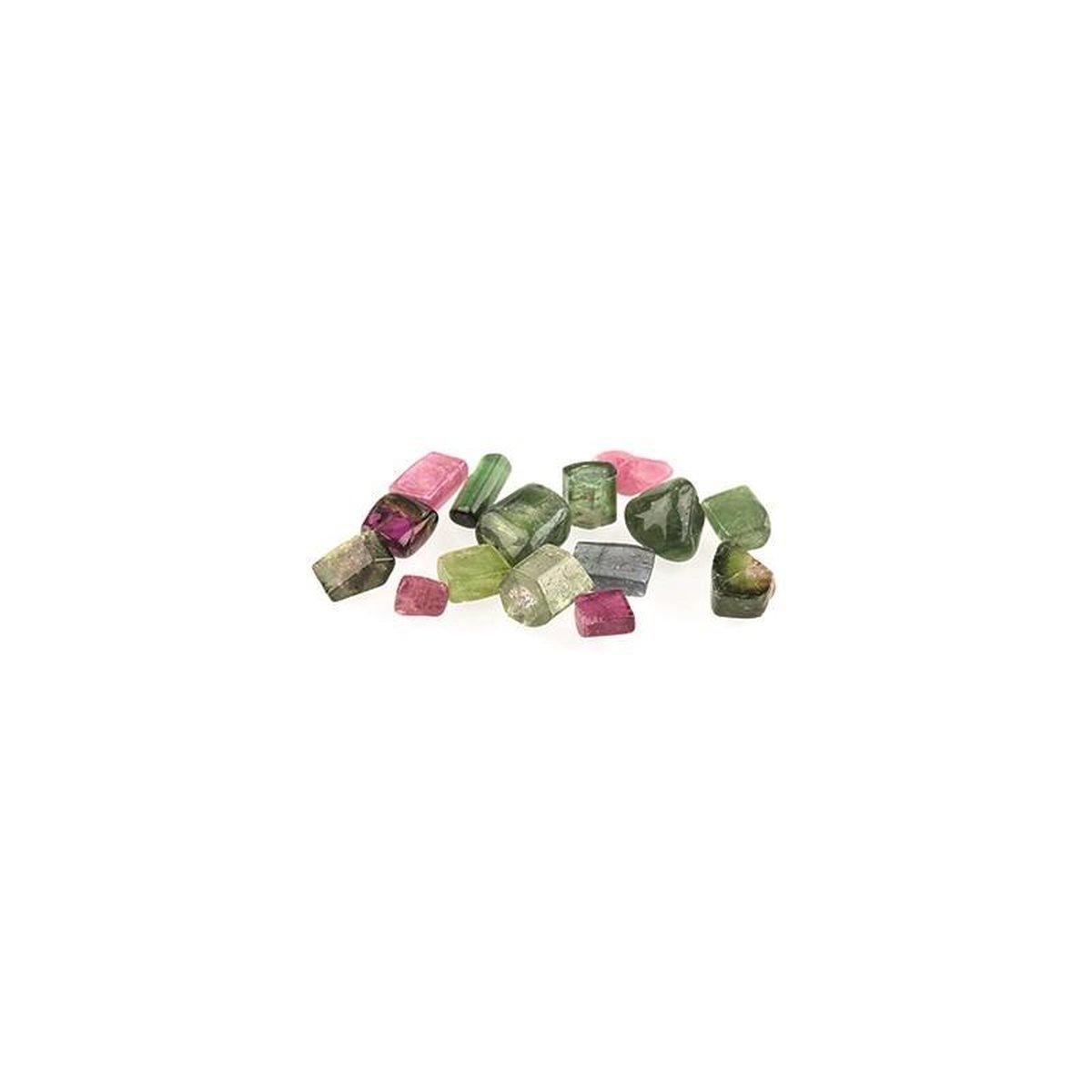 Toermalijn watermeloen A per gram (10.00) - 1 gram - bonte kleuren - Patipada