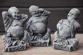 boeddha horen zien en zwijgen